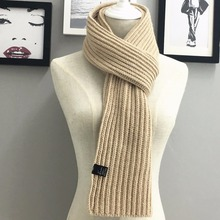 Fall and Winter Warm Knitted Cap Scarf 2 sets Man for Man or Woman