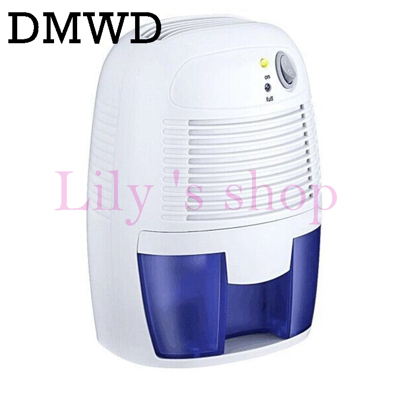 DMWD Portable MINI Dehumidifier USB Electric Quiet Air Dryer Air Dehumidifier Moisture Absorber Super Quiet for Car Home