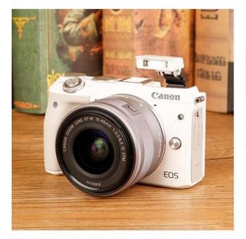 CANON M3 KAMERA Beyaz + EF-M 15-45mm IS STM CANON lensi EOS M3 Aynasız dijital kamera Marka Yeni