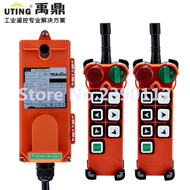industrial wireless redio remote control F21-E2 for hoist crane 2 transmitter and 1 receiver saunier duval thema classic f 21 e