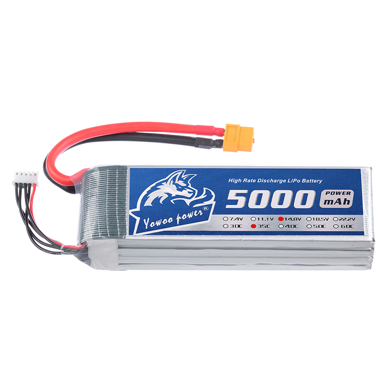 2pcs YOWOO 14.8V Lipo 4s 5000mAh 35C-70C aviao brinquedo RC lipo Battery For Drone AKKU Helicopter Quadcopter Car Airplane UAV 2 pcs led car headlight bulb hi lo beam cob headlights 72w 8000lm 6500k auto headlamp 12v 24v fog light work head lamp h4 h7 h11