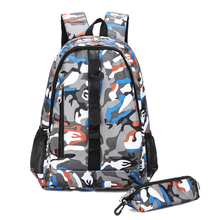 New Casual Oxford Camouflage Mens Back Pack Womens Backpacks Young Student Bag Outdoor Travel School Male Female BookBag