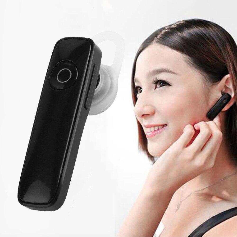 M165 Stéréo Bluetooth Casque Mini Oreille-crochet Écouteurs D'affaires Écouteur w/Microphone Mains Libres Universel Casque pour iPhone