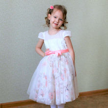 Girls Birthday Party Dress New Arrival Flower Lace Kids Princess Dress Formal Occasion Children Evening Dresses For 2-11 Years 2018 new arrival children princess dress for party wedding flower girls dress sequin ruffles lace kids dresses for girls