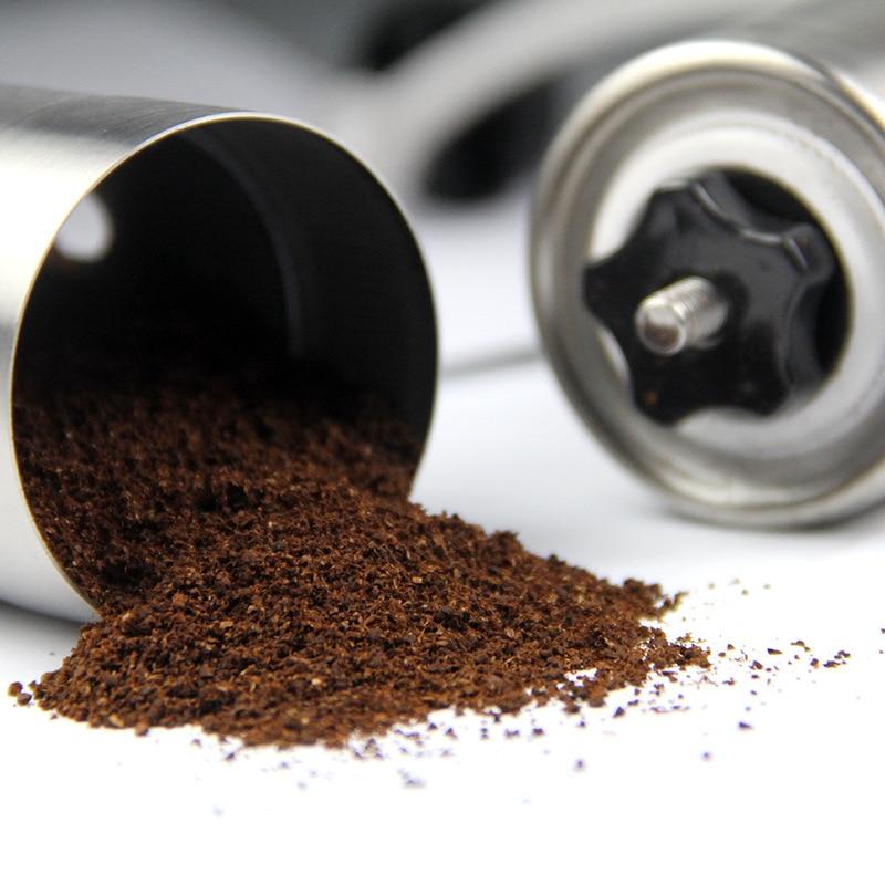 SıCAK SATıŞ Paslanmaz Çelik Manuel Kahve Değirmeni Hassas Bira - Elektrikli Mutfak Aletleri - Fotoğraf 3