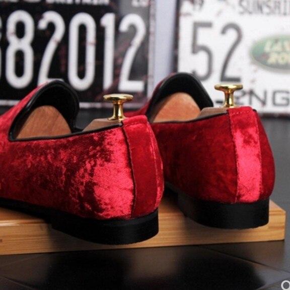 Marca De Genuino Suede Calidad Del Verano 2018 Cuero Hombres 01 Planos Zapatos Red Mocasines 02 Alta Conducción Casual 57P7HqZ
