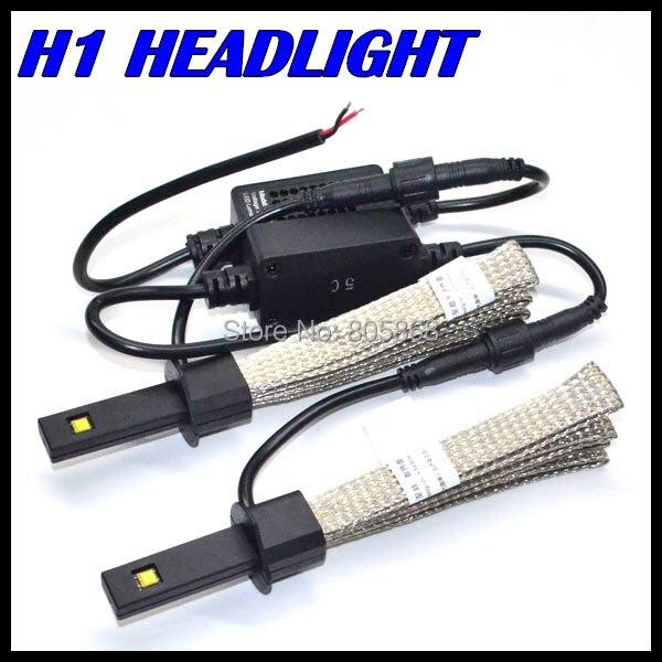New Invention Car H1 H3 Headlight 20w 5000LM LED Headlamp H1 Led Car headlight lamp bulb 12V 24V auto parking led light H1 12v led light auto headlamp h1 h3 h7 9005 9004 9007 h4 h15 car led headlight bulb 30w high single dual beam white light