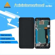 """الأصلي Axisinternational 5.2 """"ل HTC U اللعب Uplay شاشة الكريستال السائل شاشة + محول رقمي يعمل باللمس مع الإطار ل HTC U اللعب Uplay"""