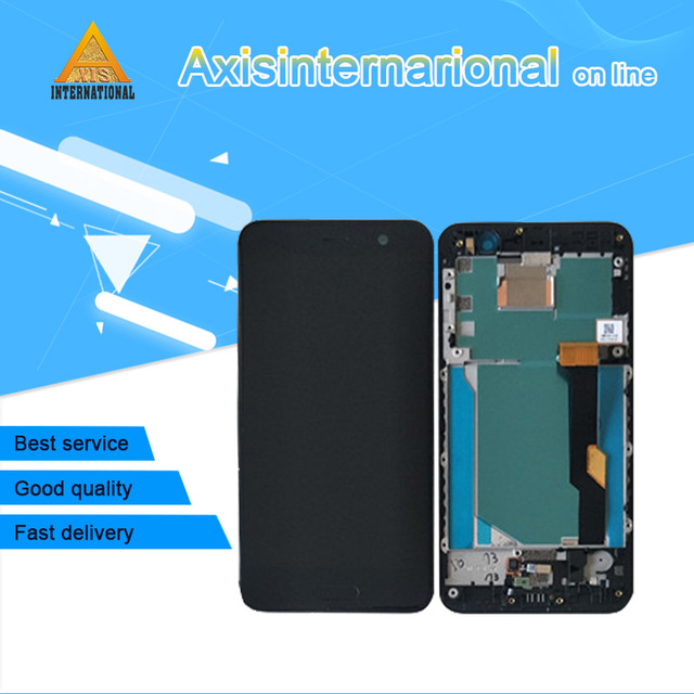 """Originale Axisinternational 5.2 """"Per HTC U Giocare Uplay Display LCD Screen + Touch Panel Digitizer Con Cornice Per HTC U Giocare Uplay"""