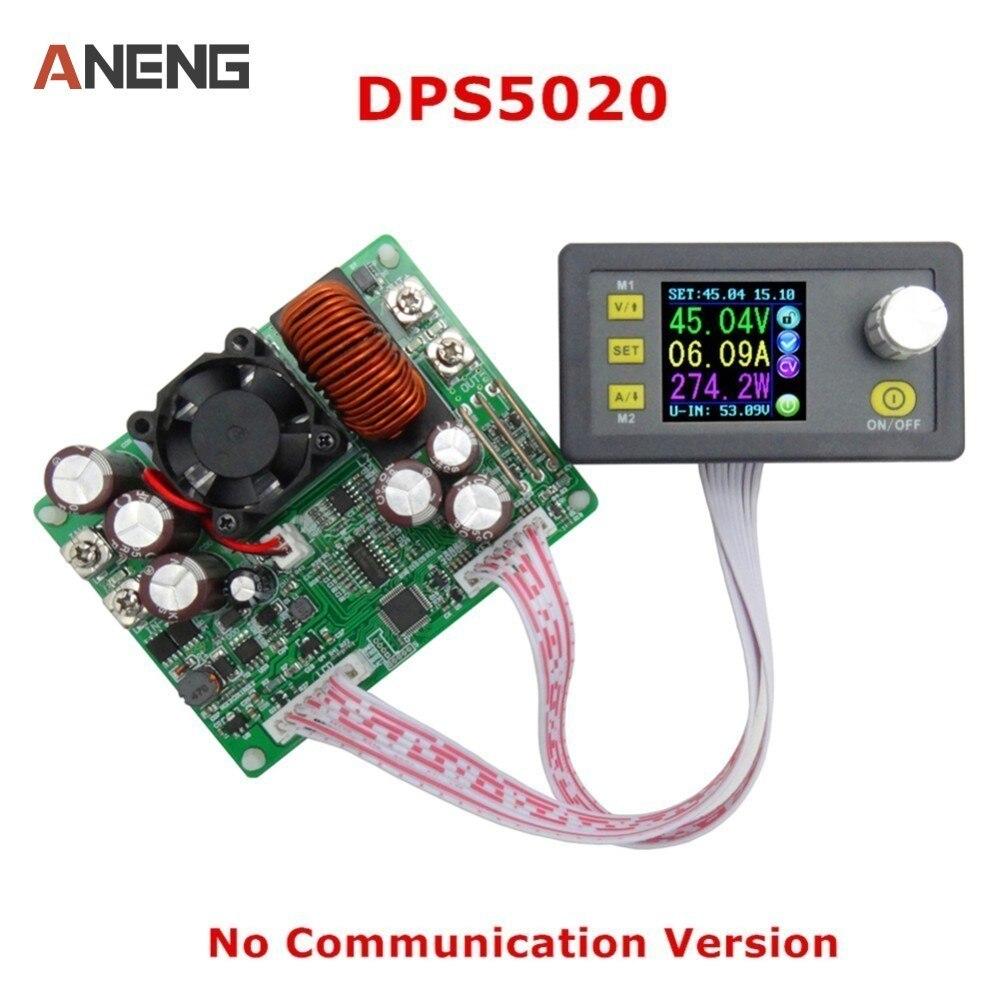 DPS5020 Konstante Spannung Strom Schritt-Unten Kommunikation Digital Power Supply Spannung Konverter LCD Voltmeter 50 v 20A