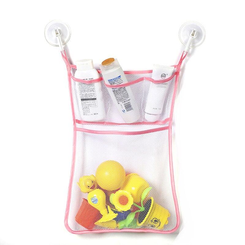 1 Pc Bunte Bad Mesh Net Lagerung Tasche Mit Haken Durable Baby Bad Badewanne Spielzeug Hängen Tasche Veranstalter Halter Für Hause Spezieller Kauf