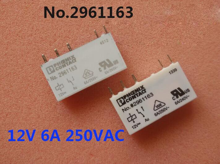 relay No.#2961163 12V No.2961163 12V 12VDC DC12V 6A 250VAC 5PIN no reservations
