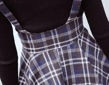 High Waist Korean Woolen Skirt