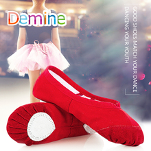 Women Girls Dance Shoes Pad Yoga Leather Soft Split Outsole Ballet Toe Shoes Fitness Insole Shoes Soft Sole Practice Shoe Insert