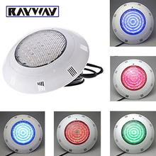 RAYWAY LED pool light piscina 40W AC12V RGB IP68 360 leds LED Swimming Pool Light Wall Mount Underwater lamp for Outdoor Marine