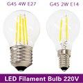 MB Retro Edison Filamento Lâmpada LED E27 E14 220 V 2 W 4 W Branco frio/Quente Branco Antigo Loft Estilo Lampada Bombilla Ampola DIODO EMISSOR de luz