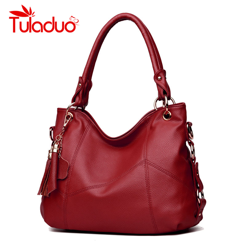 Women High Quality PU Leather Hobos Bags Designer Handbags Top-Handle Messenger Bags Larg Crossbody Casual Tote Bag Sac A Main women leather handbags vintage shoulder bag female casual tote bags high quality lady designer handbags sac a main crossbody bag