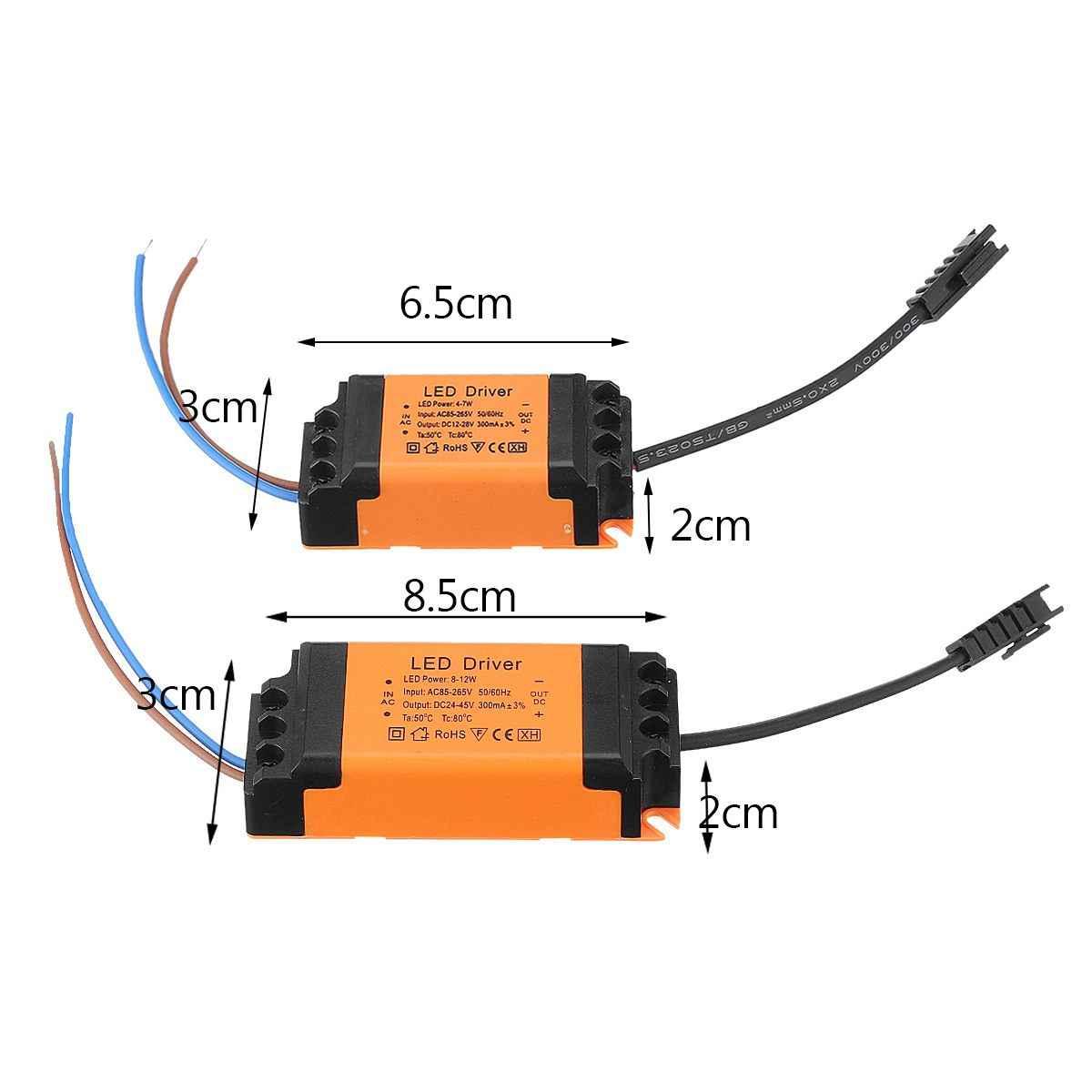 1Pc courant Constant AC 85-265V LED conducteur alimentation lampe alimentation transformateur d'éclairage 4-18W maison lumière LED