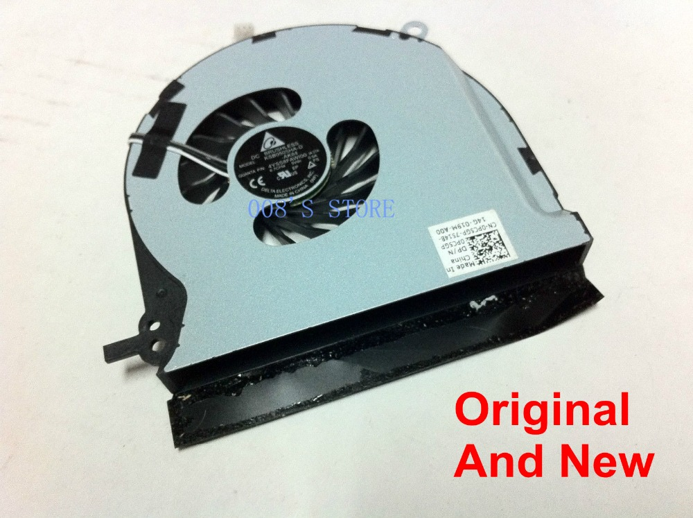 Новый Тетрадь Процессор охлаждения Cooler Вентилятор для Dell XPS 15Z L511Z KSB0505HA-D-AK84 Дельта DP/N 0PC5GP 5 В 0.5A 3 Булавки хорошее
