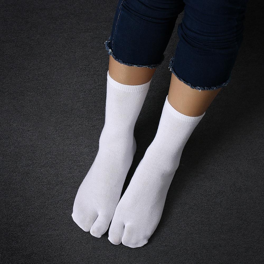 Японские кимоно унисекс высокого качества, 1 пара, унисекс, шлепанцы, сандалии, два пальца, носки, Tabi Ninja, носки Geta