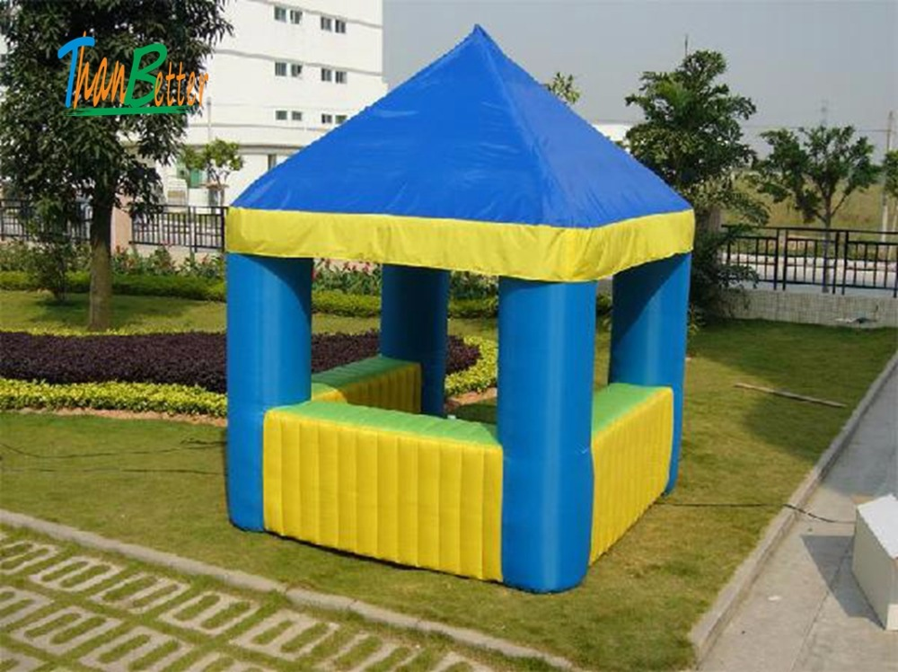 Mini inflatable treat shop, concession booth, pop up candyfloss inflatable kiosk for Haliday promotion