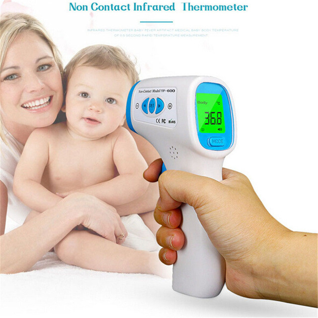 Infrared Baby Adult Thermometer Digital Forehead Non-contact boby Thermometer LCD Backlight Termometro Device  Diagnostic-tool