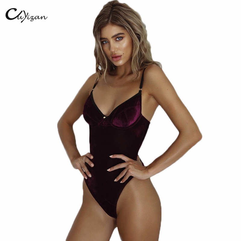 Macacao Feminino Shorts Female Rompers Womens Jumpsuit Sexy Velvet Bodycon One Piece Jumpsuits Autumn Winter Overalls For Women
