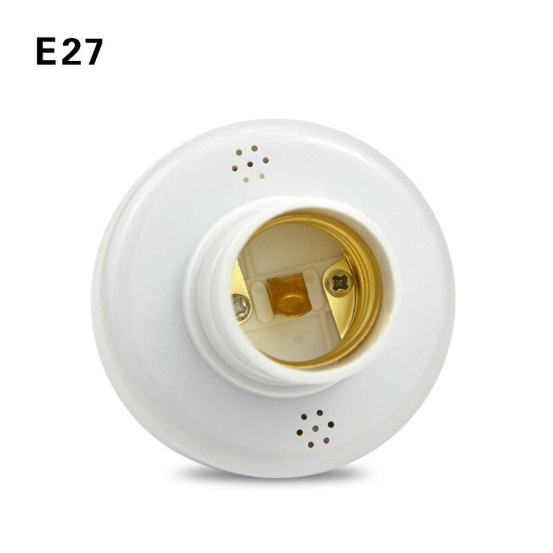Bases da Lâmpada e27 conduziu a luz base Características : Remote Control Lamp Holder