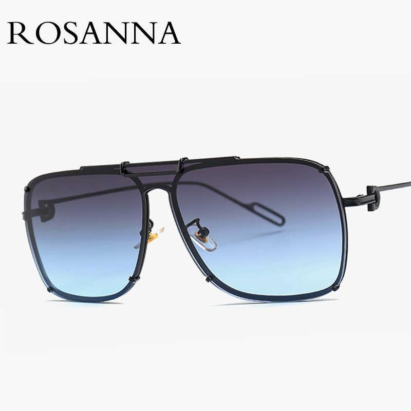 c148466fcdb ... Unisex Rimless Pilot Sunglasses Men Vintage Brand Designer Metal Big  Frame Sun glasses for Women Vintage ...