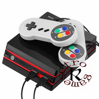 COOLBABY RS 34 HDMI HD video game entertainment system classic mini TV game console built in 282 games, 2 USB cable controller