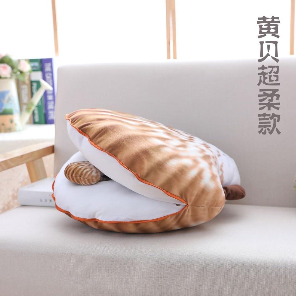 brinquedo confortavel sofa cama decoracao kawaii travesseiro mae filho travesseiro shell 05