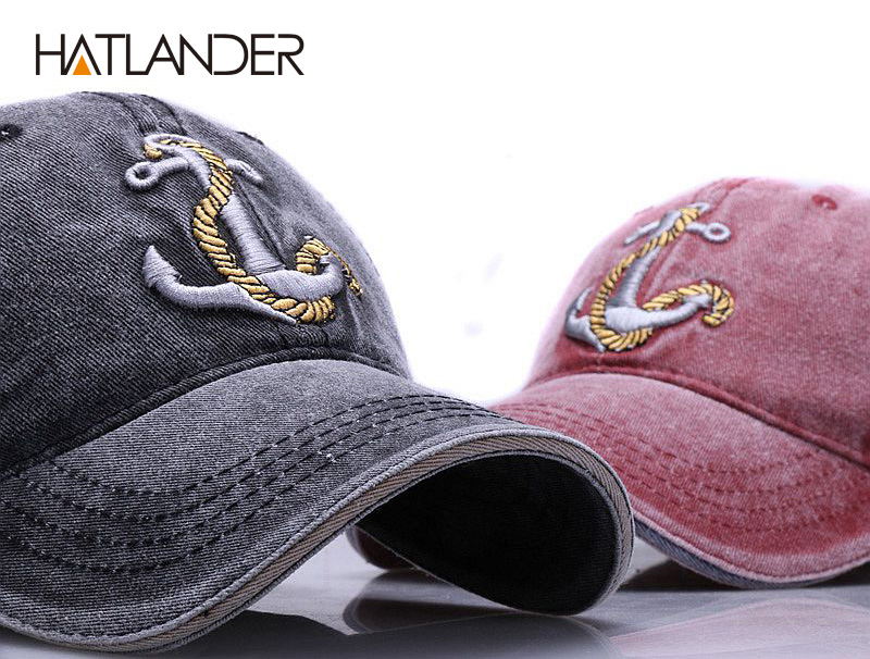 HTB1iV3op4SYBuNjSspjq6x73VXaV - [HATLANDER]Brand washed soft cotton baseball cap hat for women men vintage dad hat 3d embroidery casual outdoor sports cap