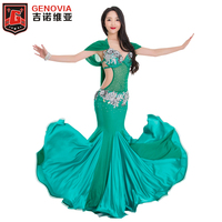 New Adult Lady women Belly Dance Costume Oriental bellydance Dresses Stage Performance Handmade Beaded Costume Lingerie B C Cup