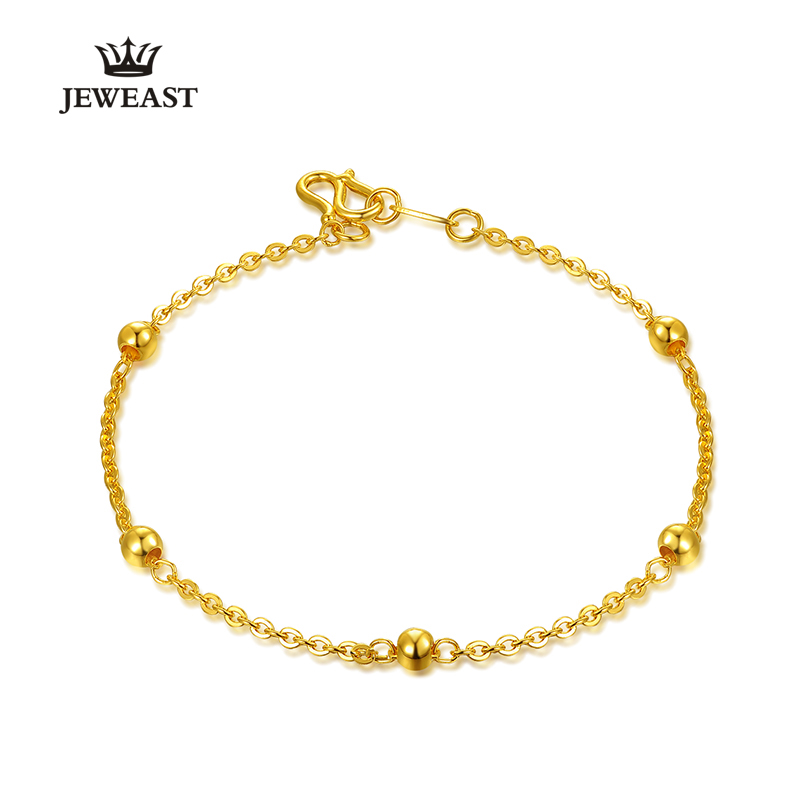 BBB 24k Pure Gold Bracelet Lady Women Genuine Real Solid Bangle ...