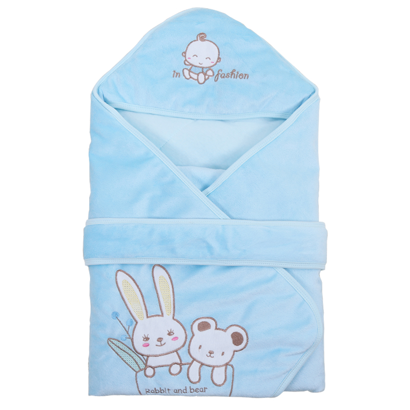 Baby Swaddle Baby Blanket Fleece Envelopes For Newborns Infant Thick Warm Berber Wrap Baby Bedding Sleeping Blanket 80*80cm warm baby stroller sleeping bag fleece prams footmuff infant swaddle wrap envelopes for newborns baby blanket 4 colors sleepsack