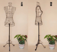 New Wire Mannequin Dress Form Mannequin Boutique Clothing Decor Metal Store Display