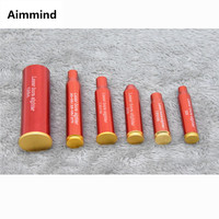 Vermelho caça laser vermelho boresight cal.308. 223 30 06 cal7.62x39 7.62x54 12ga vermelho ponto laser cartucho tático vermelho boresight|Acessórios e suporte de extensão| |  -