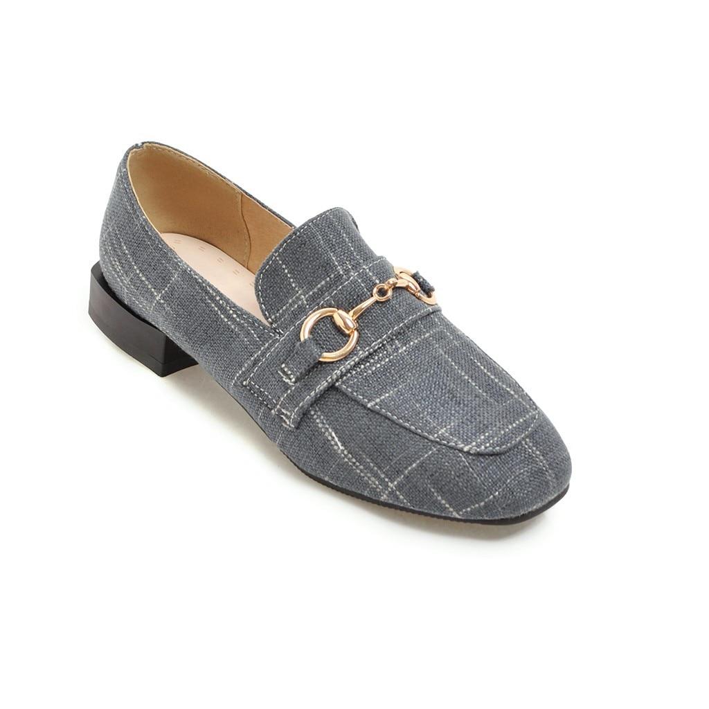 Bouche gris Automne Chaussures Printemps kaki De Noir Et Occasionnel Taille Profonde Peu 48 Talon Femmes Avec Code Ans 31 18613 Tête 18 Bas Carrée Sauvage q8gAxFpn