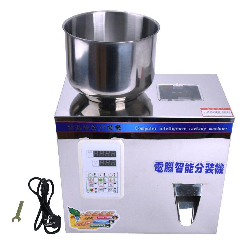 Macchina Imballatrice del tè Grano Macchina di Rifornimento Franule Nespola Automatico Sale di Pesatura Macchina In Polvere Seedfiller 2-100g O 2 -200g