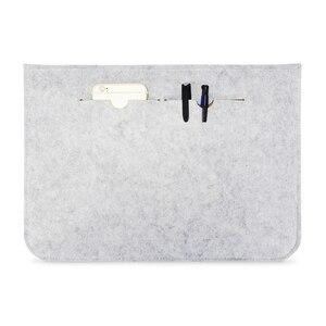 Image 3 - Yeni yumuşak kol Laptop macbook çantası hava Pro Retina 11 12 13 14 15 inç dizüstü PC tablet kılıfı kapak için HP dell Mac kitap