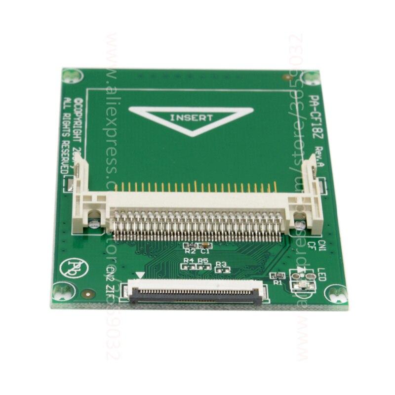 1.8 Compact Flash карты памяти CF в ce Ipod ZIF SSD HDD адаптера с 2 Кабели ...