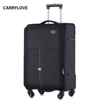 CARRYLOVE Business luggage 20/24 size High capacity Oxford Rolling Luggage Spinner brand Travel Suitcase цена