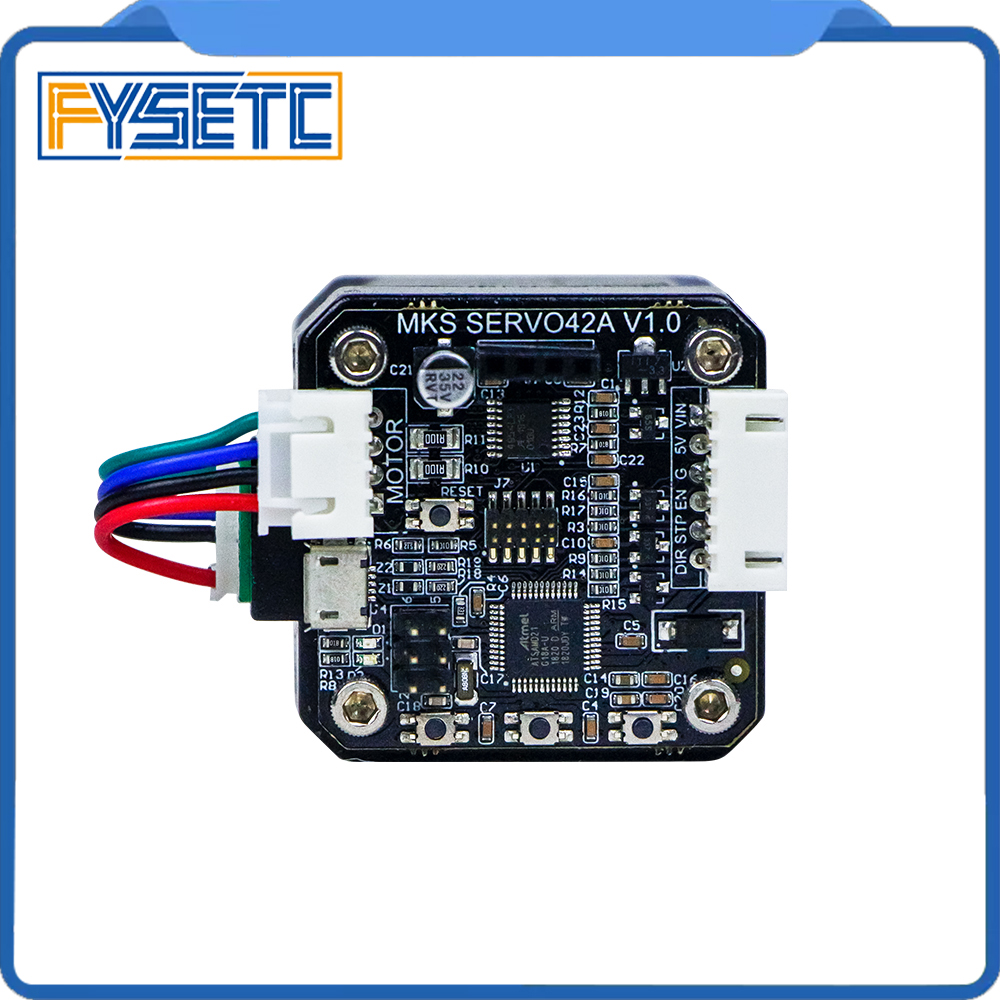 Upgrade Closed Loop Conversion Board With NEMA17 Stepper Motor SERVO42A Closed Loop Motor Board Kit Prevents Losing Steps