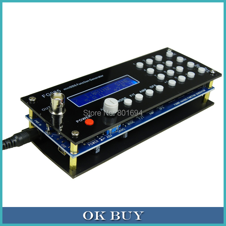 Paneled Portable MiniDDS Digital Synthesized Function Source Servo Test Controller FG085 active contrast paneled leggings