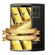 OUKITEL K7 Android 8,1 6,0 дюймов 18:9 Дисплей 10000 mAh 4 GB Оперативная память 64 Гб Встроенная память 13MP + 5MP MT6750T Quick Charge 4G отпечатков пальцев мобильный телефон