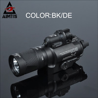 AIMTIS X400V Flashlight White And IR Output With Red Laser