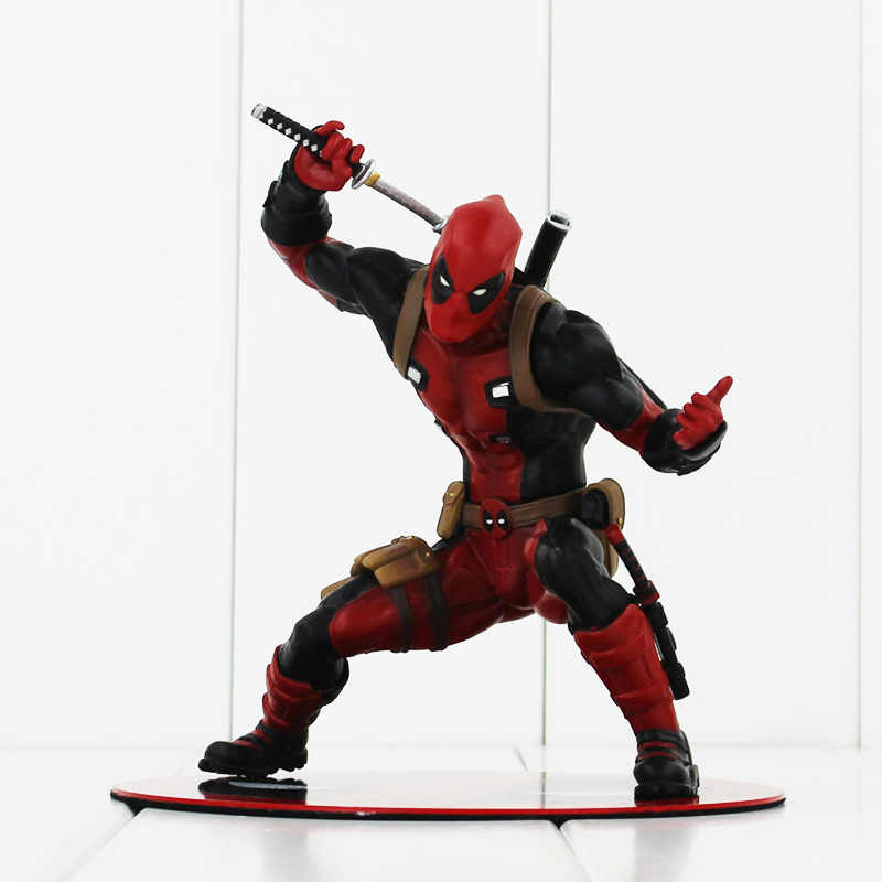 Alta Qualidade Anime X-MEN Deadpool Ação PVC Figuras Brinquedos Bonecas Brinquedos Boas Coleções Para Crianças 13 cm