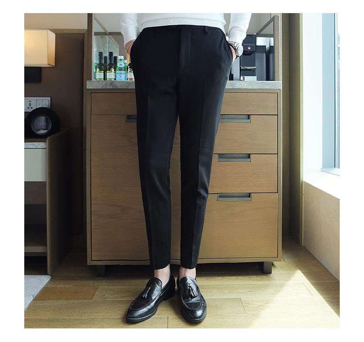 f5c2efbaac57d Compre Pantalon Hombre Vestir Pantalones De Vestir Para Hombre Gris ...