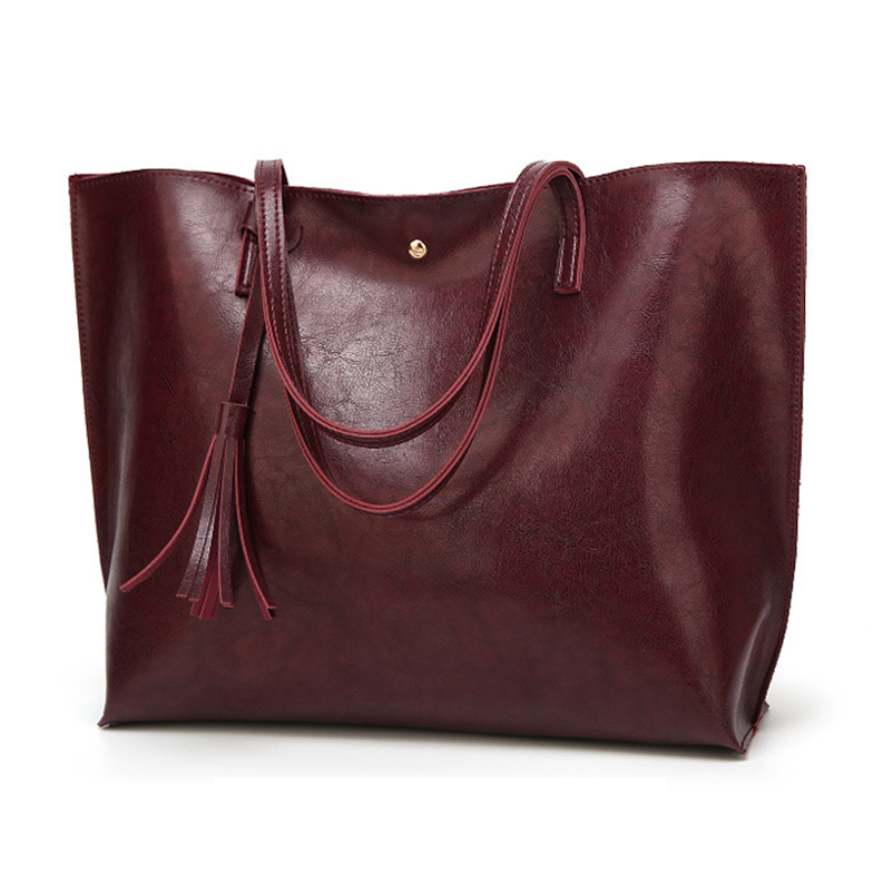 Nevenka Leather Handbag Women Casual Totes Female Shopper Ladies Shopping Bags Large Capacity Bags Vintage Bag for Women 201819