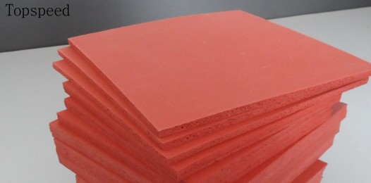 5pcs Heat Press Machine Silicone Pad Mat 50x50cm High Temperature Resistant for heat transfer sublimation silicone heat resistant mat orange
